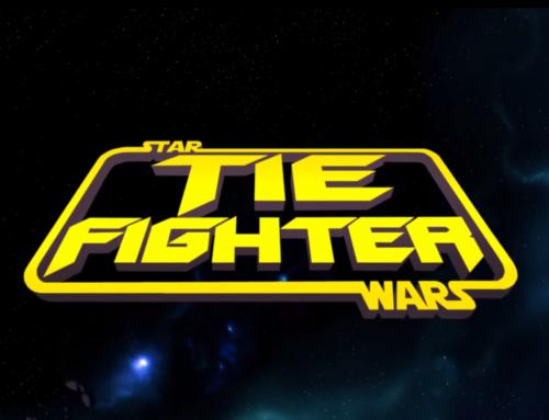 Star Wars al estilo anime de los 80s